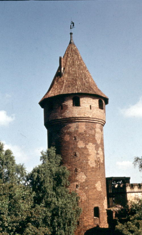 Fig. #I1: The Buttermilk Tower in the Malbork castle.